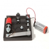 battery powered electrical morse key buzzer