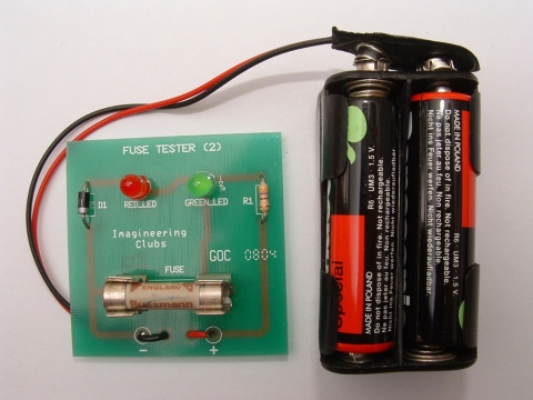 fuse box circuit tester imagineering | projects - fuse tester buss fuse box circuit builder